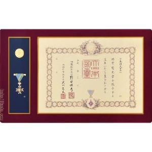 叙勲額 (勲記勲章額) 【小型】 軽くて丈夫な強化アクリル エンジ |kakejiku