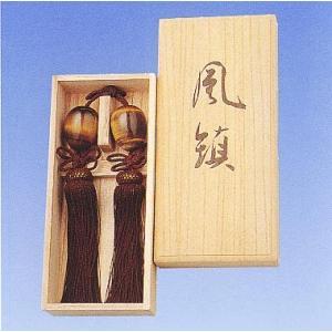 掛け軸小物 高級風鎮 茶虎目石(タイガーアイ)(桐箱入り)  掛軸|kakejiku