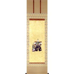 掛け軸 お雛 (梅木信作)  【掛軸】【半間床】【ひな祭り】|kakejiku