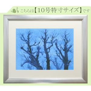 東山魁夷 絵画 樹(※10号特寸)  【複製】【美術印刷】【巨匠】【10号】|kakejiku