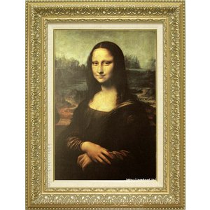 レオナルド・ダ・ヴィンチ 絵画 モナ・リザ M10号  【複製】【美術印刷】【世界の名画】【10号】|kakejiku