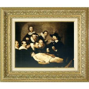 レンブラント 絵画 解剖学講義 F6号  【複製】【美術印刷】【世界の名画】【6号】|kakejiku