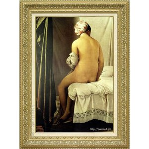 アングル 絵画 浴婦 M20A号  【複製】【美術印刷】【世界の名画】【大型絵画】|kakejiku