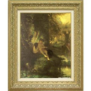 <title>ミレー 絵画 ダフニスとクロエ P10号 複製 美術印刷 世界の名画 10%OFF 10号</title>