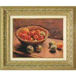 モネ 絵画 リンゴの入った籠 F6号  【複製】【美術印刷】【世界の名画】【6号】|kakejiku