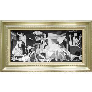 ピカソ 絵画 ゲルニカ M20C号  【複製】【美術印刷】【世界の名画】【横長】|kakejiku