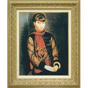 キスリング 絵画 リタ・ヴァン・リアの肖像 P10号  【複製】【美術印刷】【世界の名画】【10号】|kakejiku