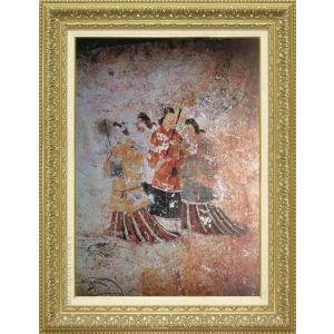 絵画 高松塚古墳壁画(西) M20A号  【複製】【美術印刷】【世界の名画】【大型絵画】|kakejiku