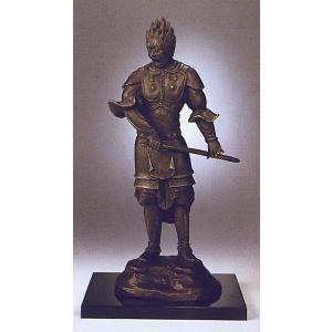 国宝十二神将 伐折羅大将(ばさら) ブロンズ像(複製) |kakejiku