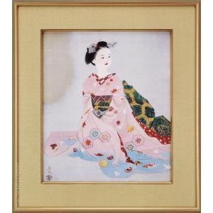 小倉遊亀 絵画 舞妓  【複製】【美術印刷】【巨匠】【変型特寸】|kakejiku