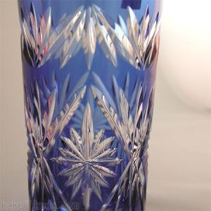 江戸切子 ひとくちビールグラス ペア (カガミクリスタル) |kakejiku|03