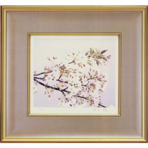 那波多目功一 絵画 『春日』  【複製】【リトグラフ】【巨匠】【変型特寸】|kakejiku