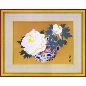 小倉遊亀 絵画 『双麗』  【複製】【美術印刷】【巨匠】【変型特寸】|kakejiku