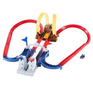 ホットウィール(Hot Wheels) マリオカート クッパ城からの脱出 セット専用:ブルーヨッシー...