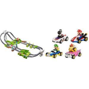 ホットウィールマリオカート サーキットトラックセット+マリオカート4パック