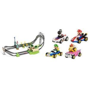 ホットウィールマリオカート サーキットライトトラックセット+マリオカート4パック