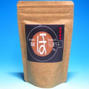 本格風味 国産ほうじ茶ラテ 130g  515円税込