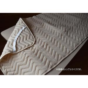 ベッドパッド セミダブルサイズ フランスベッド...の詳細画像2