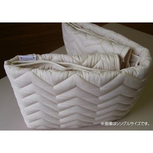 ベッドパッド セミダブルサイズ フランスベッド...の詳細画像4