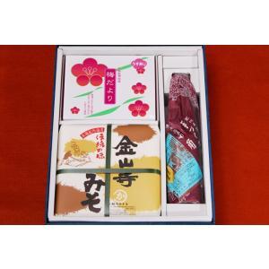 銘品めぐり P−09金山寺みそ 梅 醤油 セット|kakiuchimisoten