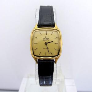 オメガ OMEGA デビル K18 ゴールド クォーツ 正規輸入 Ref.BA591023 レディース 腕時計