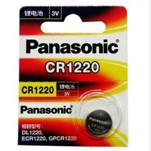 パナソニック Panasonic CR1220 3V リチウム電池1個 並行輸入品 時計用電池 ボタ...