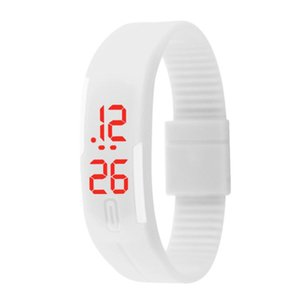 LED メンズ 腕時計 時計 レディース ウオッチ メンズ スポーツ ランニング デジタル腕時計 バングル・ブレスレット腕時計 シリコンウォッチ W-LB01-bk2|kakogawa|04