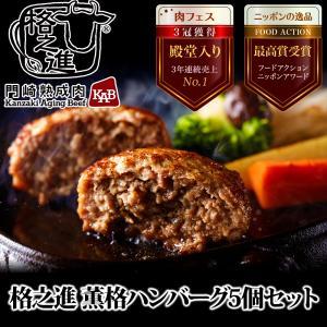 格之進 薫格 ハンバーグ 5個セット ギフト 冷凍 無添加|kakunoshin