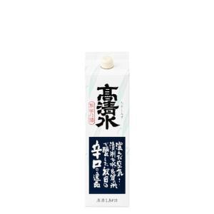 高清水 辛口 さけパック /秋田酒類製造 1.8L 1本|kakuyasu