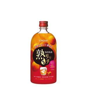 チョーヤ  熟リッチ 極熟梅酒  720ML