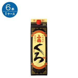 乙 さつま小鶴黒 芋25°パック  1.8L× 6本