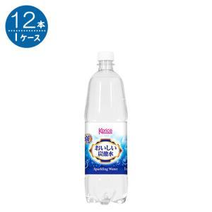K-Price 炭酸水 1L 1L × 12本|kakuyasu
