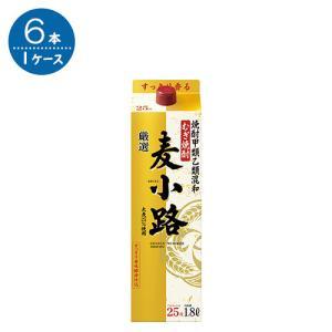 甲乙混和 麦小路 25°/宝酒造 1.8L × 6本