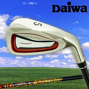 ダイワブレイド アイアン6本セット(#5〜9、PW)「日経掲載」CARBOFLEX・TRカーボンシャフト「DAIWA BLADE」|kakuyasugolf