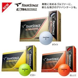 2014年モデルブリヂストンツアーステージエクストラ ディスタンスゴルフボール1ダース12個入り「TOURSTAGE EXTRA DISTANCE」