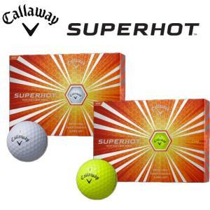 2015年モデル 激安数量限定 キャロウェイ スーパーホット ゴルフボール 1ダース12個入り 日本正規品  |kakuyasugolf