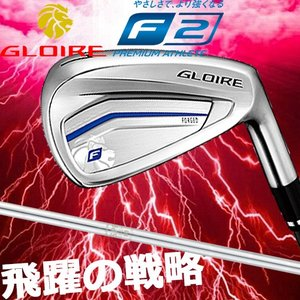 Taylor made テーラーメイド GLOIRE F2 グローレ F2 5本アイアンセット #6〜PW N.S.PRO930GH スチールシャフト
