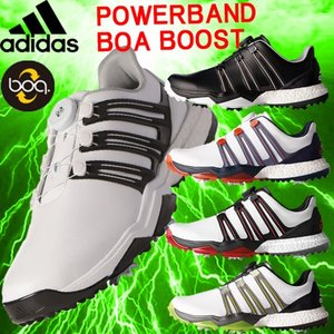 アディダス adidas パワーバンド ボア ブースト Powerband BOA boost ソフトスパイクシューズ |kakuyasugolf
