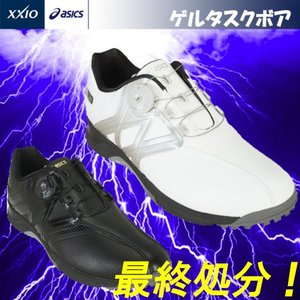 日本正規品 DUNLOP ダンロップXアシックス GEL-TUSK Boa ゲルタスク ボア スパイクレス ゴルフシューズ TGN911 |kakuyasugolf