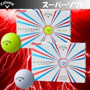 日本正規品 Callaway キャロウェイ SUPER SOFT スーパーソフト ゴルフボール 1ダース 12個入り |kakuyasugolf
