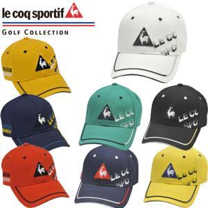QGBPJC00 le coq sportif ルコックゴルフ シャドーロゴ コットンツイルキャップ...