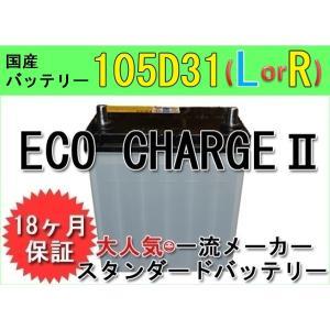 【送料込】環境にやさしい!【エコ・チャージII・105D31(L/R)型】リサイクルバッテリー!!