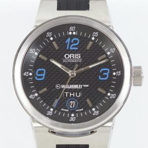 ORIS オリス ウイリアムズFI チーム デイデイト 7560 メンズ 自動巻 SS/ラバー|kaleid