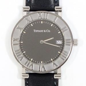 TIFFANY&Co. ティファニー メンズ クォーツ SS/レザー