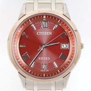 CITIZEN シチズン エクシード AS7154-50W エコドライブ 電波時計|kaleid