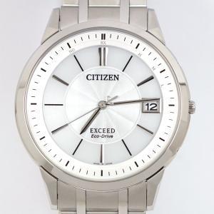 CITIZEN シチズン エクシード EBG74-5023 H113-T016189 エコドライブ 電波時計 メンズ 中古未使用品|kaleid