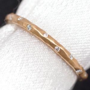 TIFFANY&Co. ティファニー ハマード 750PG(K18ピンクゴールド) リング ダイヤモンド18P 約11.5号|kaleid