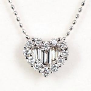 Queen クイーン ジュエリー ダイヤモンド 0.50ct 750WG K18 ホワイトゴールド ネックレス|kaleid