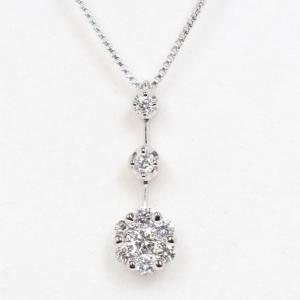 VENDOME ヴァンドーム 青山 ダイヤモンド 0.41ct Pt950/Pt850 ネックレス|kaleid