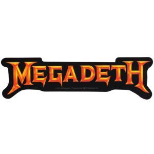MEGADETH / メガデス - Gold Logo/ステッカー|kaltz